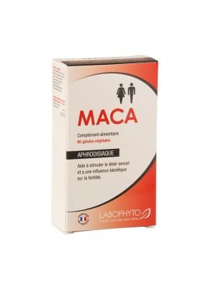 Maca - Aphrodisiaque naturel 60 gélules - LaboPhyto