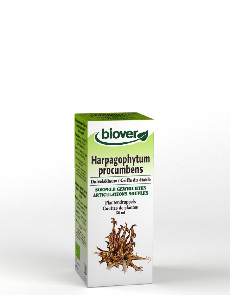 Harpagophytum (Griffes du diable) Bio - Articulations Teinture-mère 50 ml - Biover