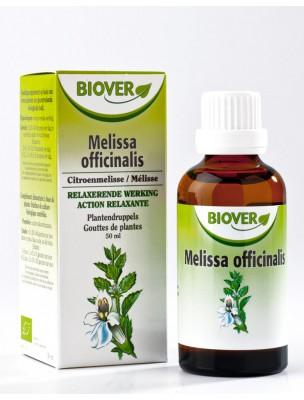 Mélisse Bio - Stress & Digestion Teinture-mère Melissa officinalis 50 ml - Biover