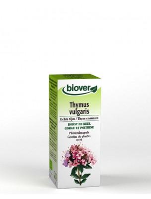 Thym Bio - Respiration & Digestion Teinture-mère Thymus vulgaris 50 ml - Biover