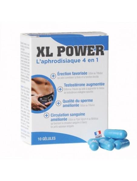 XL Power - Aphrodisiaque naturel 10 gélules - LaboPhyto