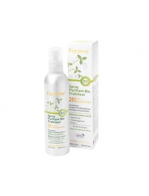 Spray Purifiant Bio Fraîcheur - aux 28 huiles essentielles 180 ml - Florame