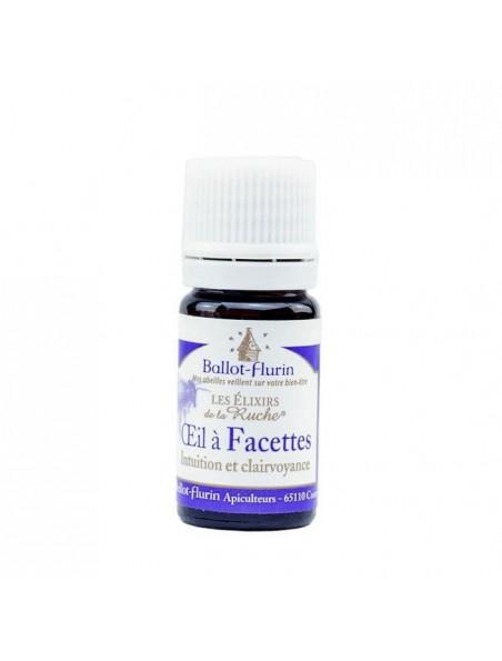 Elixir Oeil à Facettes Bio - Intuition et clairvoyance 5ml - Ballot-Flurin