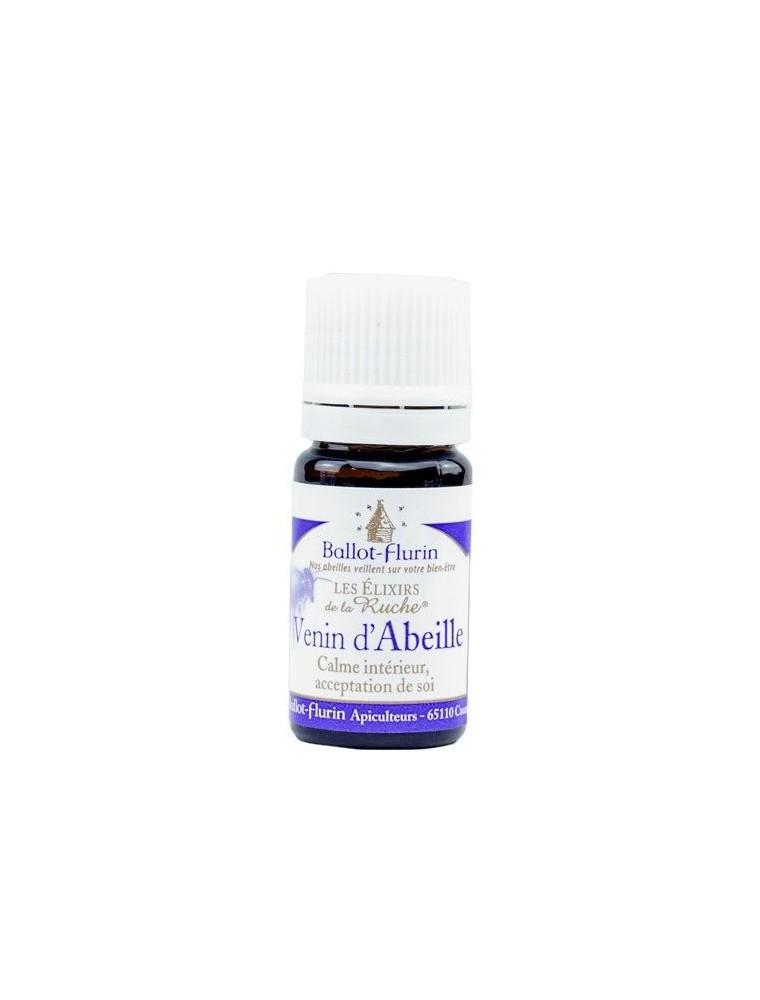Elixir Venin d'Abeille Bio - Calme Intérieur, Acceptation de Soi 5ml - Ballot-Flurin