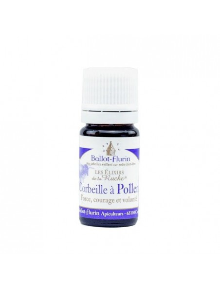 Elixir Corbeille à Pollen Bio - Force, Courage et Volonté 5ml - Ballot-Flurin