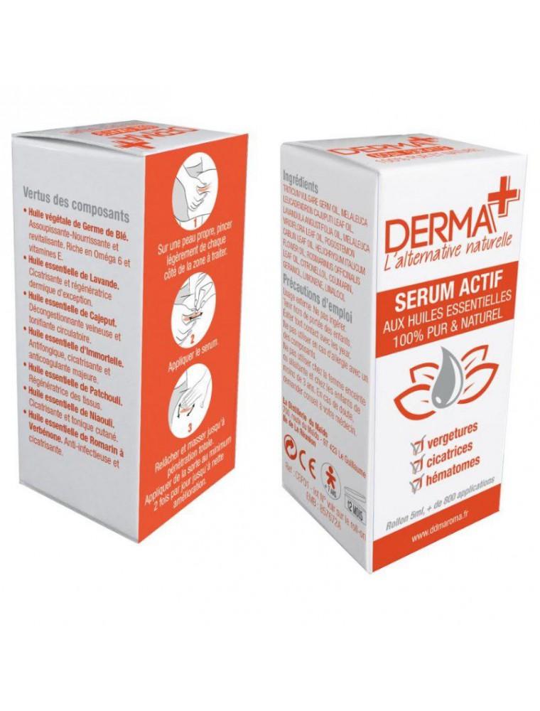 Derma+- Sérum Actif aux huiles essentielles 5 ml - La Distillerie du Maïdo