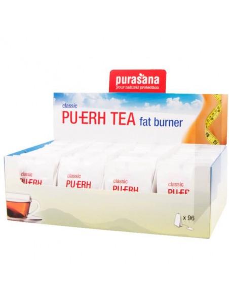 Pu-Erh Tea - Brûleur de graisses 96 infusettes - Purasana