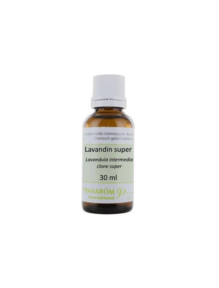 Lavandin Super - Huile essentielle Lavandula intermedia clone Super 30 ml - Pranarôm