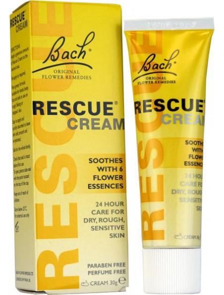 Rescue en Crème - Peau agressée 30 ml - Fleurs de Bach Original