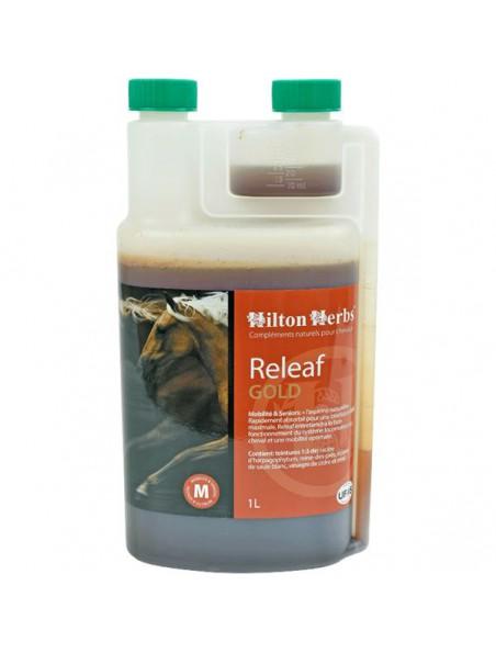 Releaf Gold - Articulation & Mobilité des chevaux 1 Litre - Hilton Herbs