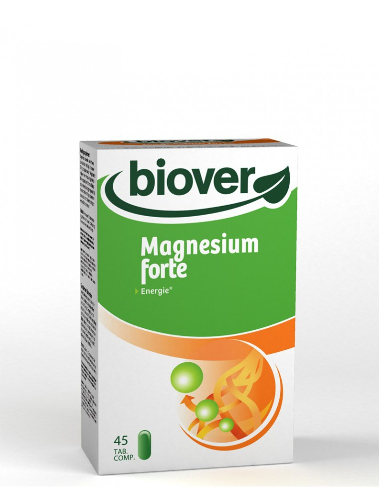 Magnésium forte - Energie 45 comprimés - Biover