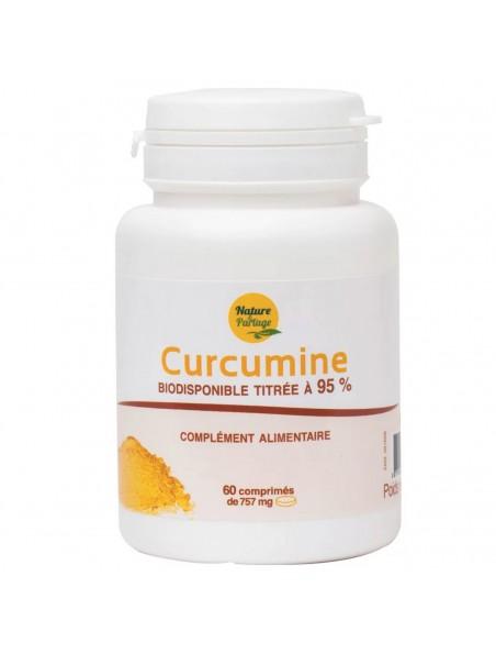 Curcumine - Titrée à 95% 60 comprimés - Nature et Partage