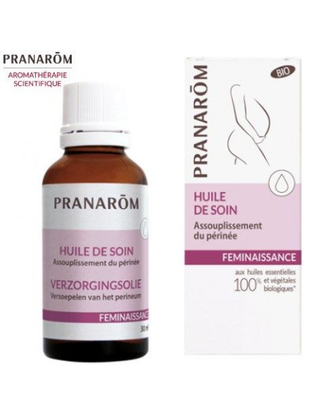 Assouplissement du périnée - Préparation huileuse pour massage 30 ml - Pranarôm