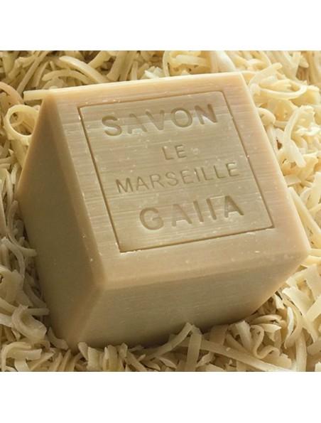 Savon de Marseille Le 1688 saponifié à froid - Pur Olive 250 g - Gaiia