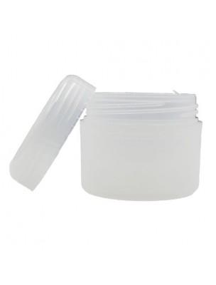 Pot translucide de 50 ml pour crèmes et baumes