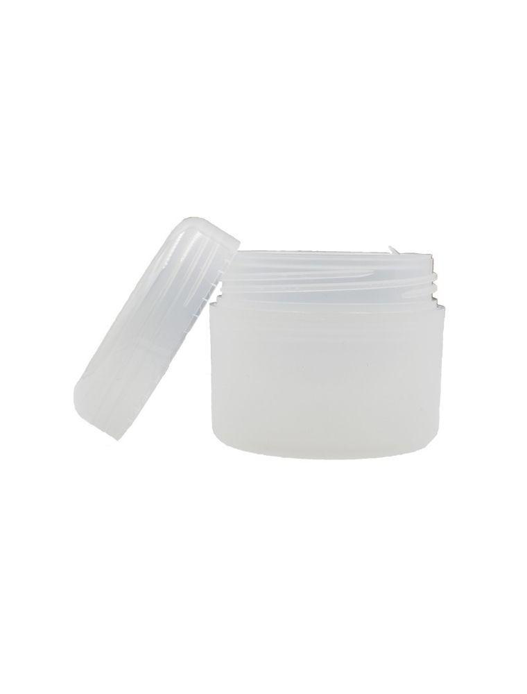 Pot translucide de 100 ml pour crèmes et baumes