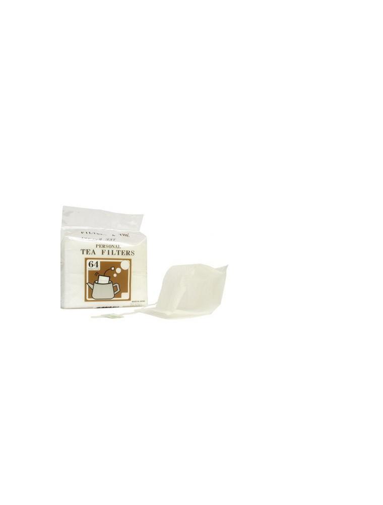 Filtres à thé en papier pour thé en vrac - 64 filtres