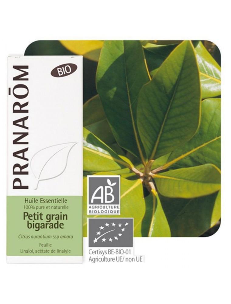 Orange amère (Petit grain bigaradier) Bio - Huile essentielle Citrus aurantium ssp amara 10 ml - Pranarôm