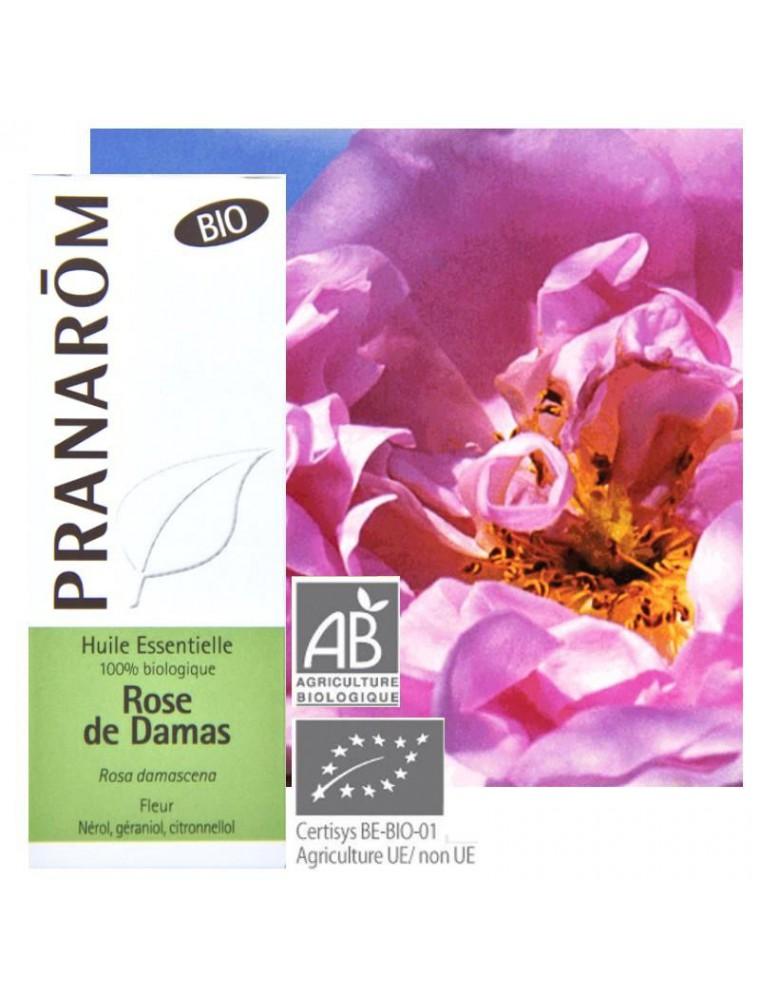 Rose de Damas Bio - Huile essentielle Rosa damascena 5 ml - Pranarôm