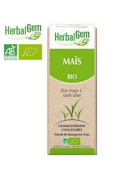 Maïs bourgeon Bio - Circulation 50 ml - Herbalgem