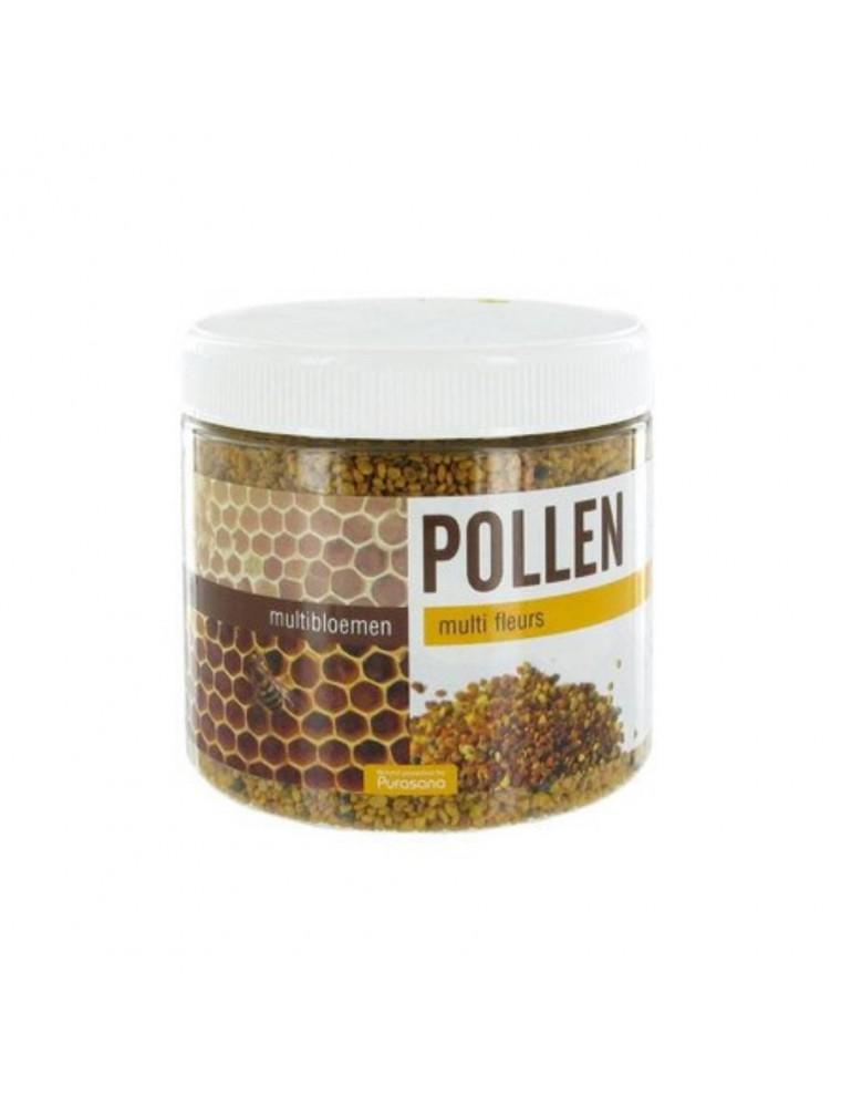 Pollen Multi Fleurs - Énergie et Vitalité 500 g - Purasana