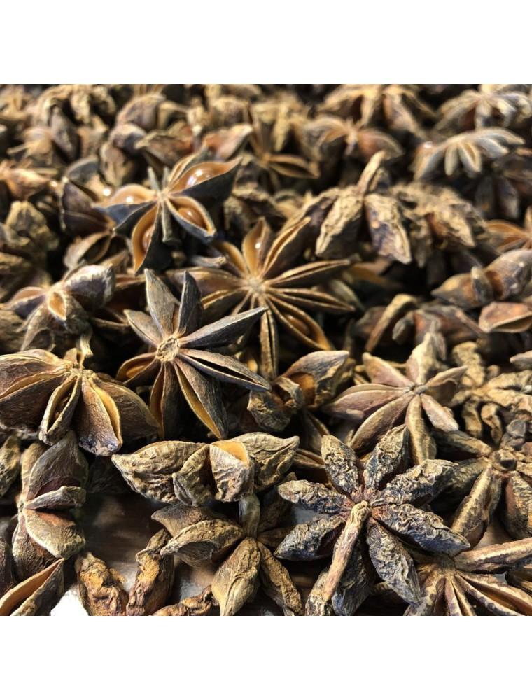 Anis étoilé (badiane) Bio - Fruit complet 100g - Tisane d'Illicium verum Hook. F.