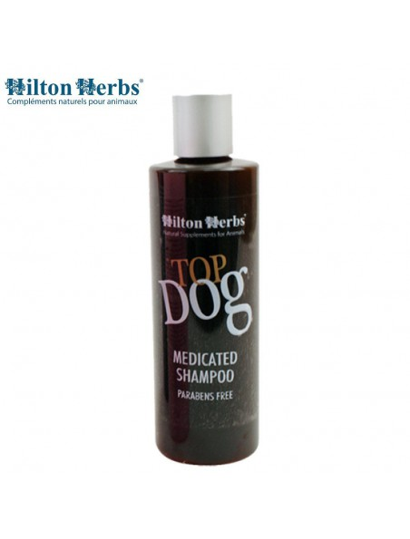 Top Dog Medicated - Shampooing Chiens 250ml - Hilton Herbs