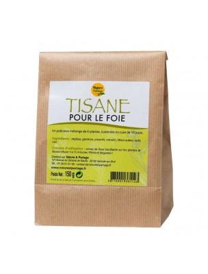 Tisane pour le foie - Tisane 150 grammes - Nature et Partage
