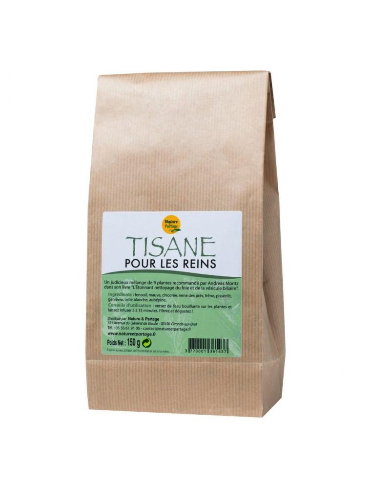 Tisane pour les reins - Tisane 150 grammes - Nature et Partage