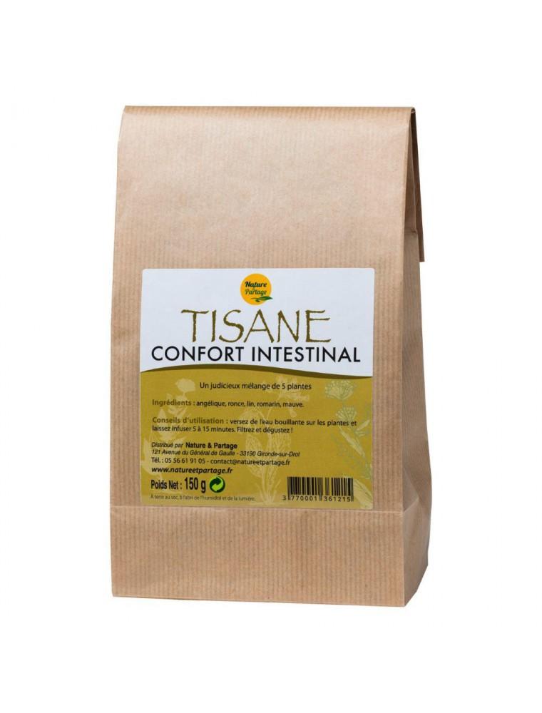 Tisane Confort intestinal - Tisane 150 grammes - Nature et Partage
