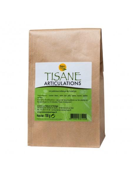 Tisane Articulations - Tisane 150 grammes - Nature et Partage