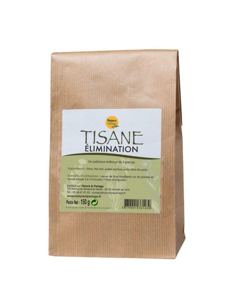 Tisane Elimination - Tisane 150 grammes - Nature et Partage