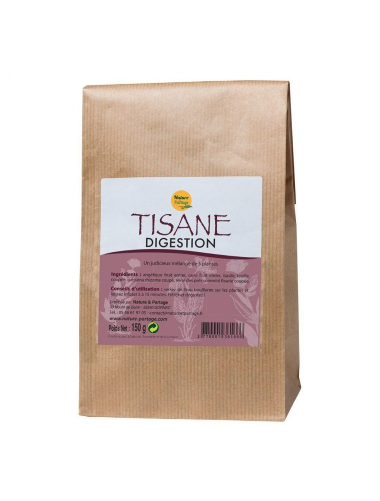 Tisane Digestion - Tisane 150 grammes - Nature et Partage