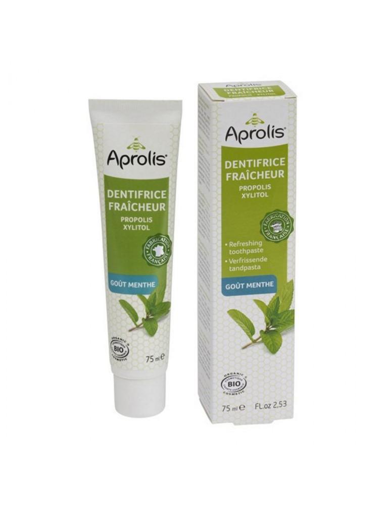 Dentifrice Fraîcheur goût Menthe - Propolis & Xylitol 75 ml - Aprolis