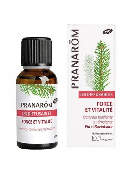 Force et Vitalité - Immunité Les Diffusables 30 ml - Pranarôm