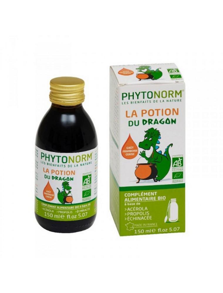 La Potion du Dragon Bio - Acérola, Propolis & Echinacée 150 ml - Phytonorm