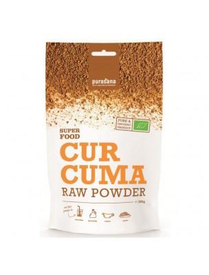 Curcuma en poudre Bio - Super Food 200g - Purasana