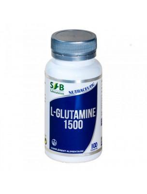 L-Glutamine 1500 mg - Récupération Sportive 100 comprimés - SFB Laboratoires
