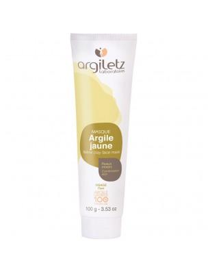 Masque à l'argile jaune – 100ml – Argiletz