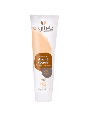 Masque à l'argile rouge – 100ml – Argiletz