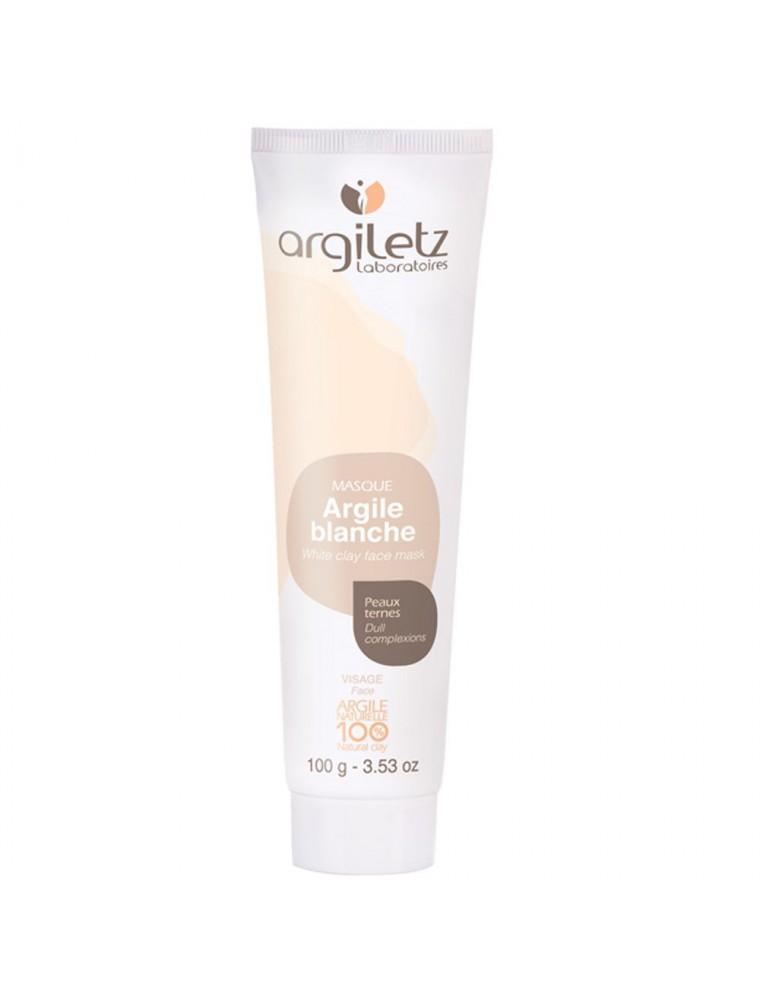 Masque à l'argile blanche - Peaux ternes 100ml - Argiletz