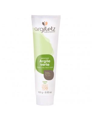 Masque à l'argile verte - Peaux grasses 100ml - Argiletz