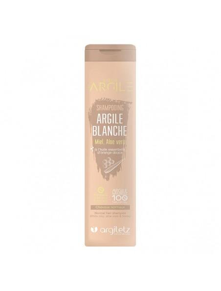 Shampooing Bio à l'argile blanche - Équilibrant, Cheveux normaux 200ml - Argiletz