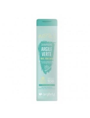 Shampooing bio à l'argile verte - Purifiant, cheveux gras 200ml - Argiletz