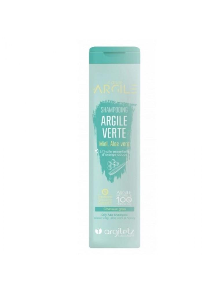 Shampooing bio à l'argile verte - Purifiant, cheveux gras, 200ml - Argiletz