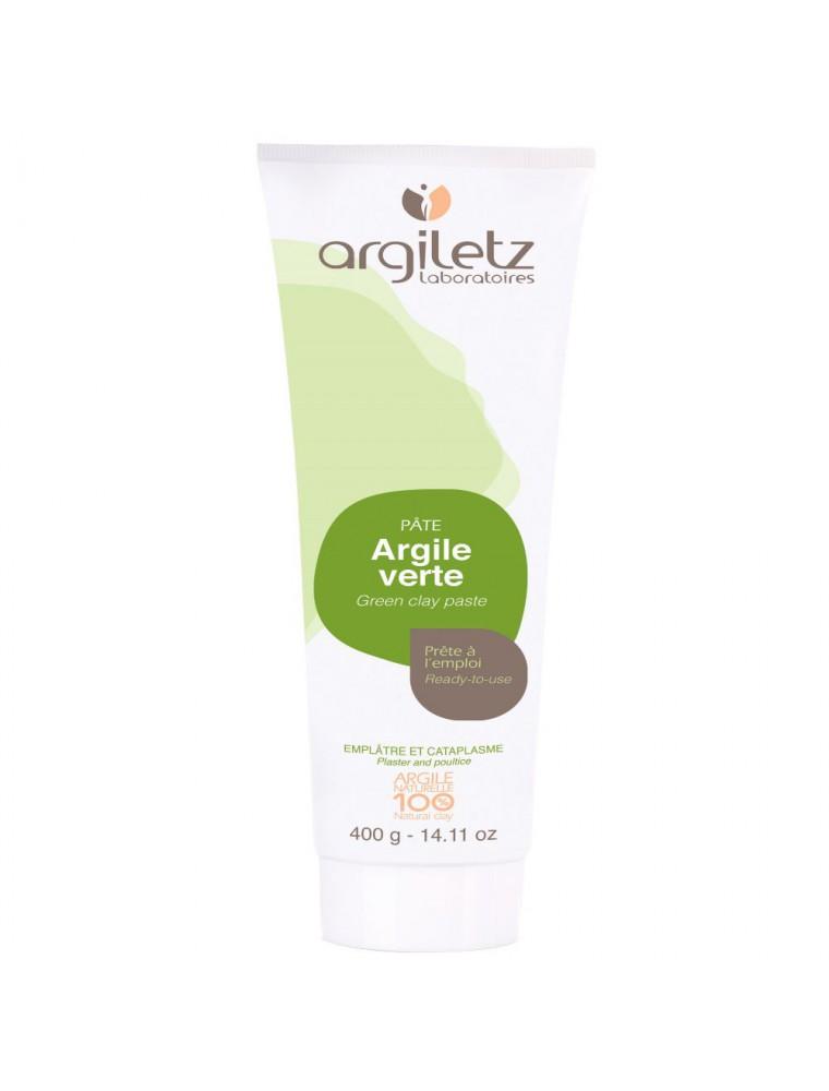 Tube de pâte d'argile verte prête à l'emploi - Peau & Articulations 400g - Argiletz
