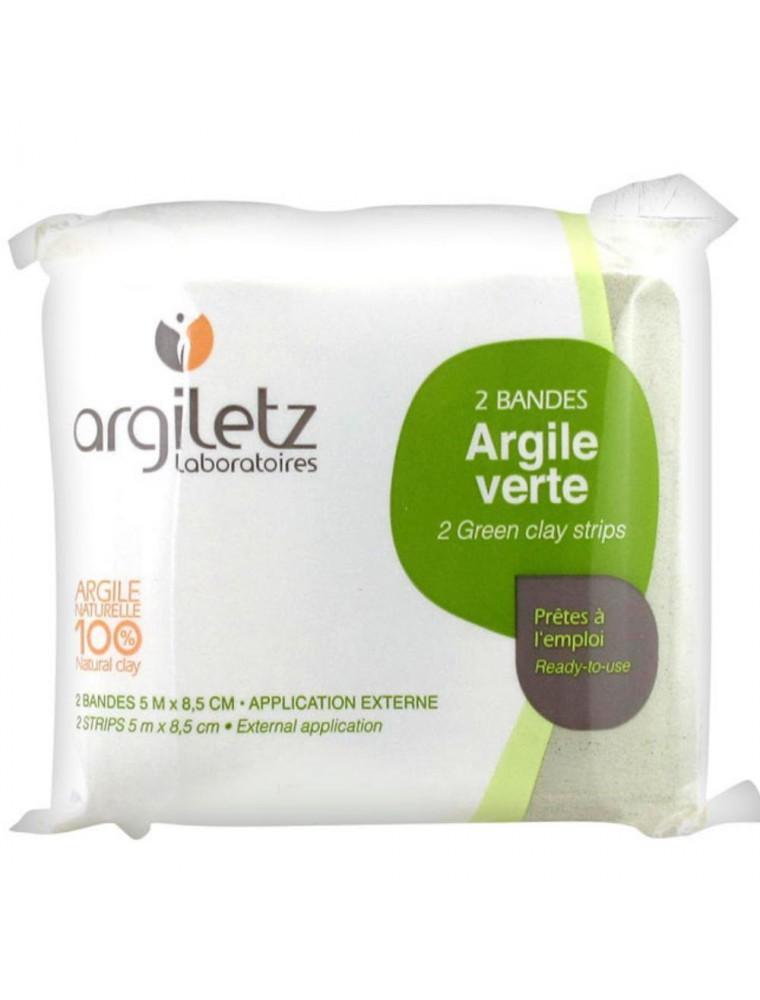 Bandes d'argile verte - Réparatrices et Relaxantes - Argiletz
