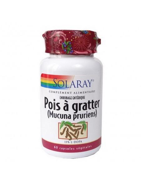 Pois à gratter (Mucuna pruriens) - Dépression & Libido 60 capsules - Solaray