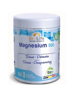 Magnésium 500 - Tonus & Détente 50 gélules - Be-Life
