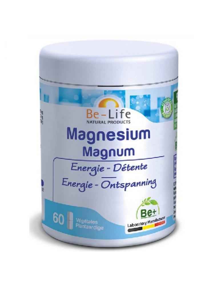 Magnésium Magnum - Energie & Détente 60 gélules - Be-Life